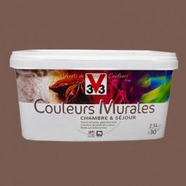Peinture V33 Couleurs Murales Mat Châtaigne Pas Cher En Ligne