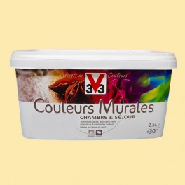 Peinture V33 Couleurs Murales Mat Bouton D Or