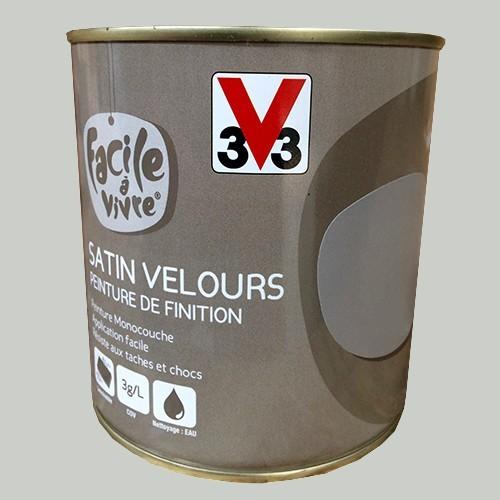 Peinture murale et boiserie v33 facile vivre galet satin velour - Peinture murale pas cher en ligne ...