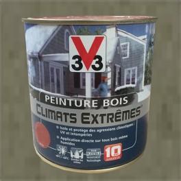 """Peinture Fer V33 """"Climats Extrêmes"""" Martelé Vert de gris"""