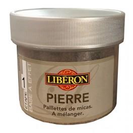 LIBÉRON Pierre (étape 1) Paillette de Mica