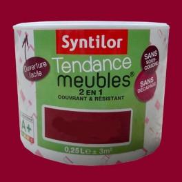 SYNTILOR Peinture Tendance Meubles Effet Pailleté Framboise Givrée
