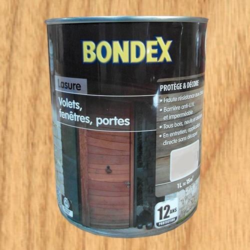 Bondex Lasure Volets Fentres Portes Chne Clair  Ans Pas Cher
