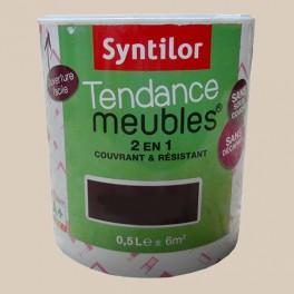SYNTILOR Peinture Tendance Meubles Effet Pailleté Blanc Nacré