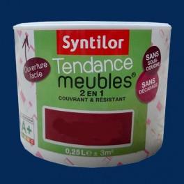 SYNTILOR Peinture Tendance Meubles Effet Pailleté Bleu Paon