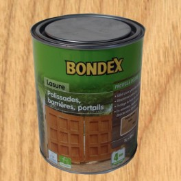 bondex lasure classique bois ext rieurs palissades barri res ch ne clair pas cher en ligne. Black Bedroom Furniture Sets. Home Design Ideas