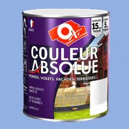 OXI Couleur Absolue Bois extérieurs Bleu Provence