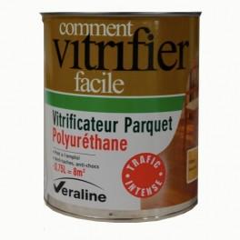 VERALINE Vitrificateur Parquet Polyuréthane Trafic Intense Naturel Aspect Ciré