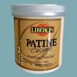"""LIBERON Patine Cuisine Finition """"Vieillie"""" (Etape 2) 1L Lagune"""