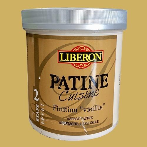 """LIBERON Patine Cuisine Finition """"Vieillie"""" (Etape 2) 1L Huile d'olive"""