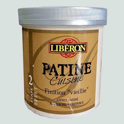 Liberon patine cuisine finition vieillie etape 2 1l il for Produit liberon bois