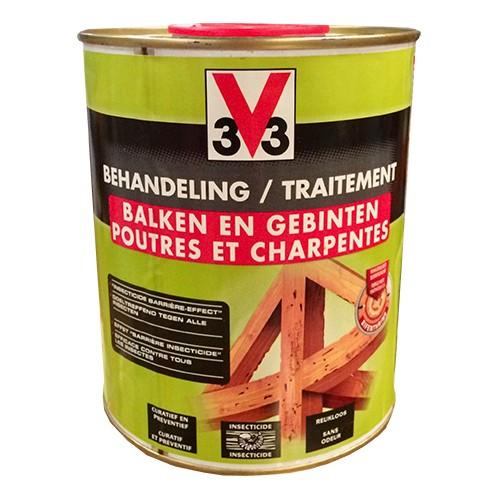 traitement poutre bois interesting la rparation des bois par rsine poxydique permet de. Black Bedroom Furniture Sets. Home Design Ideas
