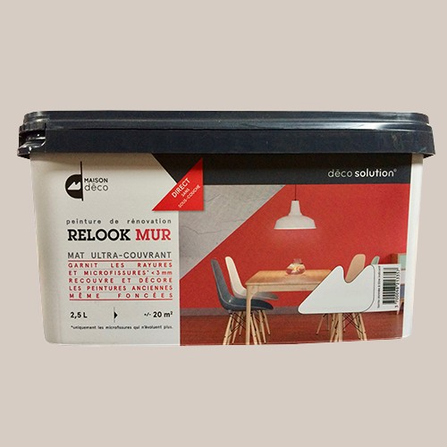 maison d co relook mur ecolodge pas cher en ligne. Black Bedroom Furniture Sets. Home Design Ideas