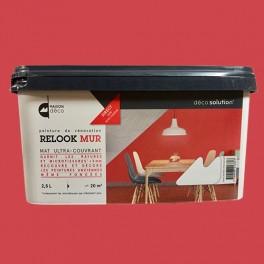 Maison d co relook mur red avenue pas cher en ligne - Peinture pas cher mur ...