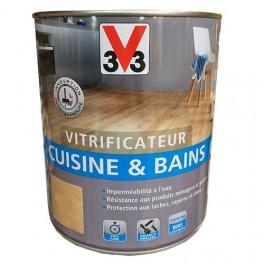V33 Vitrificateur Cuisine Bains Incolore Mat
