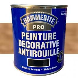 HAMMERITE Peinture Décorative Antirouille Cuivre Martelé