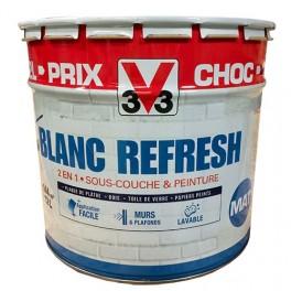 achat vente peinture blanche pour murs et plafonds pas cher peinture destock. Black Bedroom Furniture Sets. Home Design Ideas