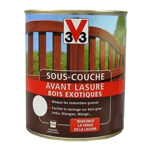 V SousCouche Avant Lasure Bois Exotiques Ambr Pas Cher En Ligne