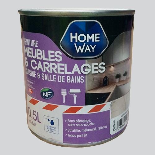 Home way peinture meubles carrelages coup d 39 clat pas cher en l - Brocante en ligne meubles ...