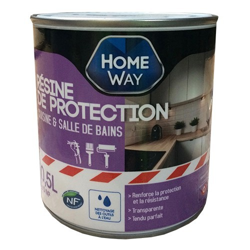 Way r sine de protection cuisine salle de bains pas cher en ligne - Traitement bois salle de bain ...
