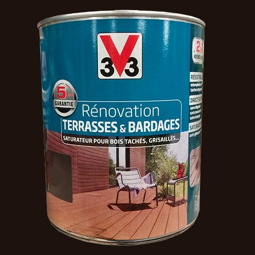 v33 r novation terrasse bardages bois weng mat pas cher. Black Bedroom Furniture Sets. Home Design Ideas