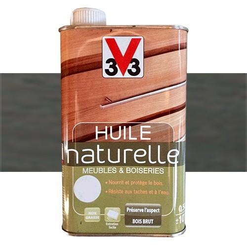 V33 Huile Naturelle Meubles & Boiseries Wengé Pas Cher En Ligne