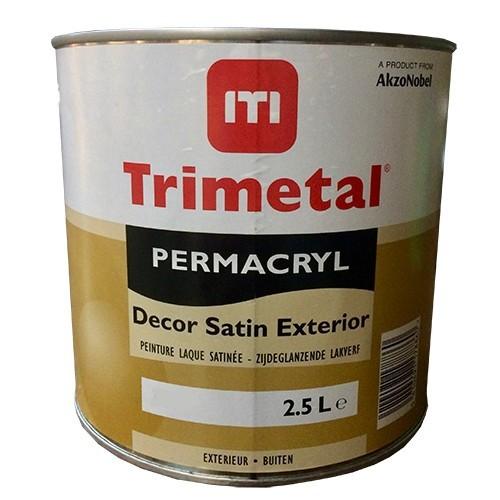 trimetal peinture permacryl d cor satin exterior pas cher en ligne. Black Bedroom Furniture Sets. Home Design Ideas
