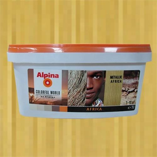 ALPINA Peinture acrylique Africa Metallic 1L