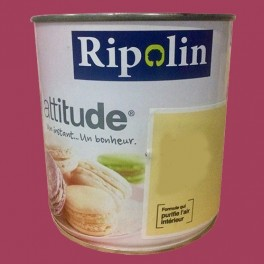 "RIPOLIN Peinture Attitude ""Pause sucrée"" Satin Rose praliné"