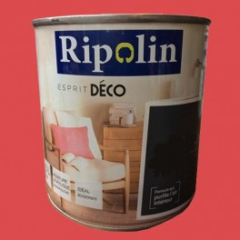 """RIPOLIN Peinture Acrylique """"Esprit Déco"""" Rouge vif satin"""