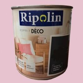"RIPOLIN Peinture Acrylique ""Esprit Déco"" Rose macaron  satin"