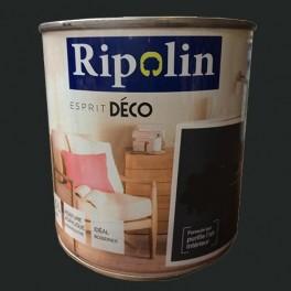 """RIPOLIN Peinture Acrylique """"Esprit Déco"""" Noir satin"""