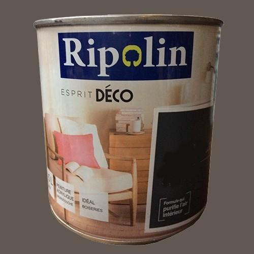 "RIPOLIN Peinture Acrylique ""Esprit Déco"" Marron arabica satin"