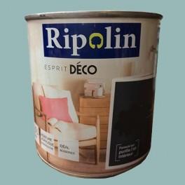 "RIPOLIN Peinture Acrylique ""Esprit Déco"" Bleu cupcake satin"