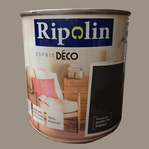 """RIPOLIN Peinture Acrylique """"Esprit Déco"""" Bâton de Reglisse satin"""