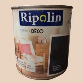 "RIPOLIN Peinture Acrylique ""Esprit Déco"" Lin scintillant métal"