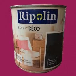 """RIPOLIN Peinture Acrylique """"Esprit Déco"""" Rose praline Brillant"""