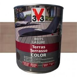 V33 Lasure Terrasse Color Bois grisé
