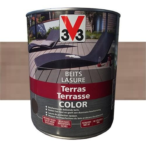 lasure couleur grise lasure xyladecor uchalet coloru gris bouleau mat l with lasure couleur. Black Bedroom Furniture Sets. Home Design Ideas