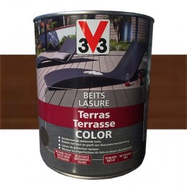 V33 Lasure Terrasse Color Wengé