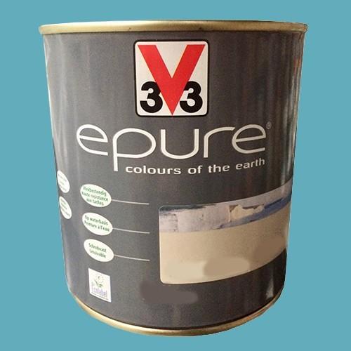 v33 peinture acrylique epure bleu des cr tes pas cher en ligne. Black Bedroom Furniture Sets. Home Design Ideas