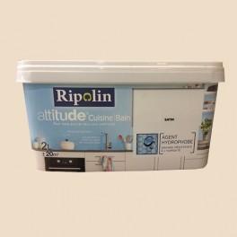 Ripolin Peinture Acrylique Attitude Cuisine Bain Blanc Casse