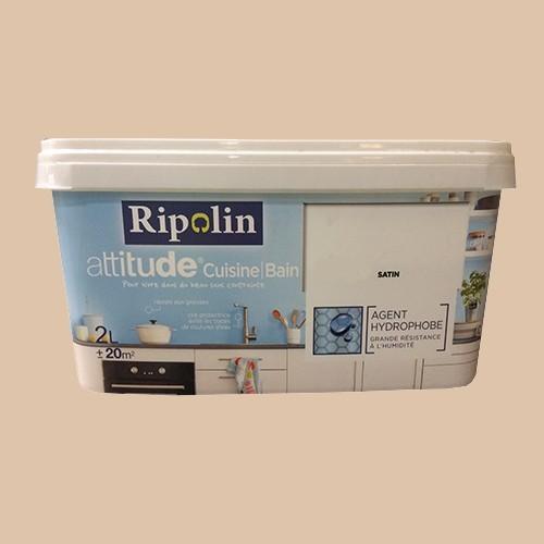Ripolin peinture acrylique attitude cuisine bain lin pas cher en ligne - Peinture cuisine pas cher ...