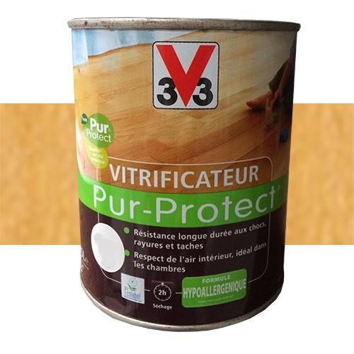 V33 Vitrificateur Pur-Protect Incolore Ciré