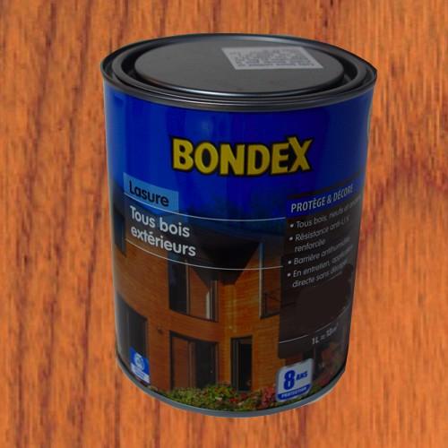 Bondex lasure tous bois ext rieur 8 ans teck pas cher en ligne - Lasure de couleur pour bois exterieur ...
