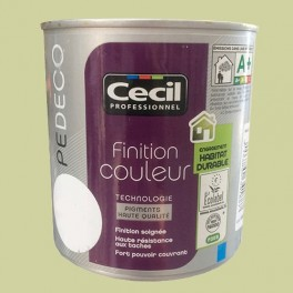 CECIL PE DECO Peinture Finition Couleur Satin Vert jade