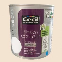 CECIL PE DECO Peinture Finition Couleur Satin Fleur de coton