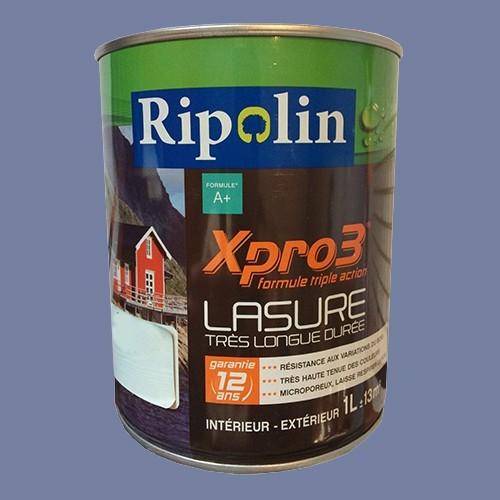 RIPOLIN Lasure XPro3 12ans Bleu breton
