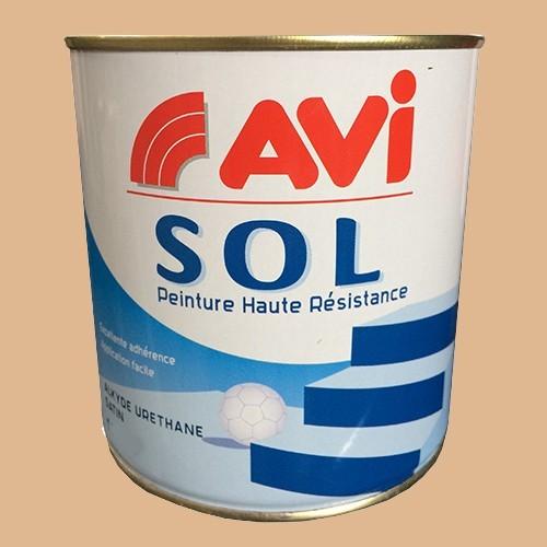 AVI Sol Peinture Glycéro Beige Satin