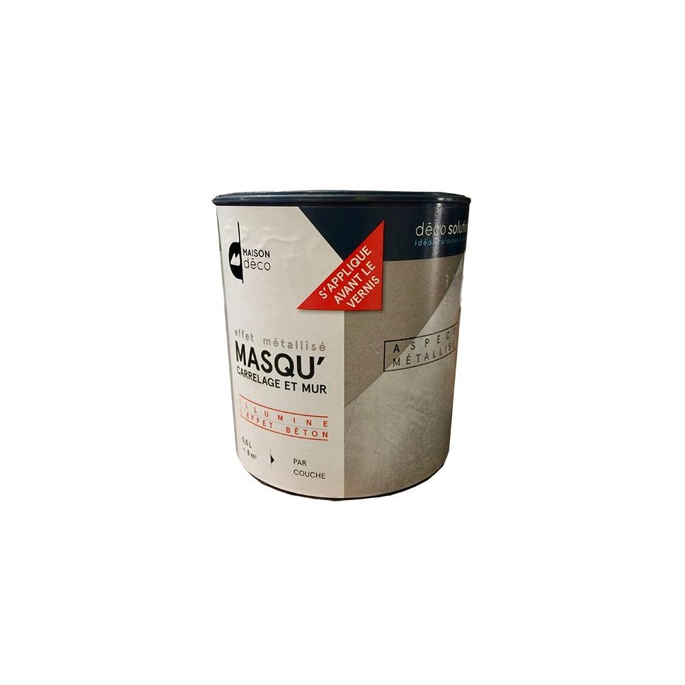 Maison d co masqu 39 effet m tallis 0 5l pas cher en ligne for Peinture interieur maison pas cher